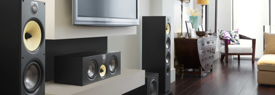 Bowers & Wilkins Home Theatre Speakers